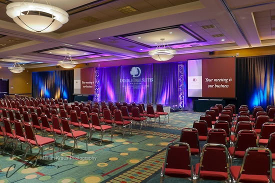 Ballroom of the DoubleTree by Hilton Hotel Chicago - Arlington Heights, ILM