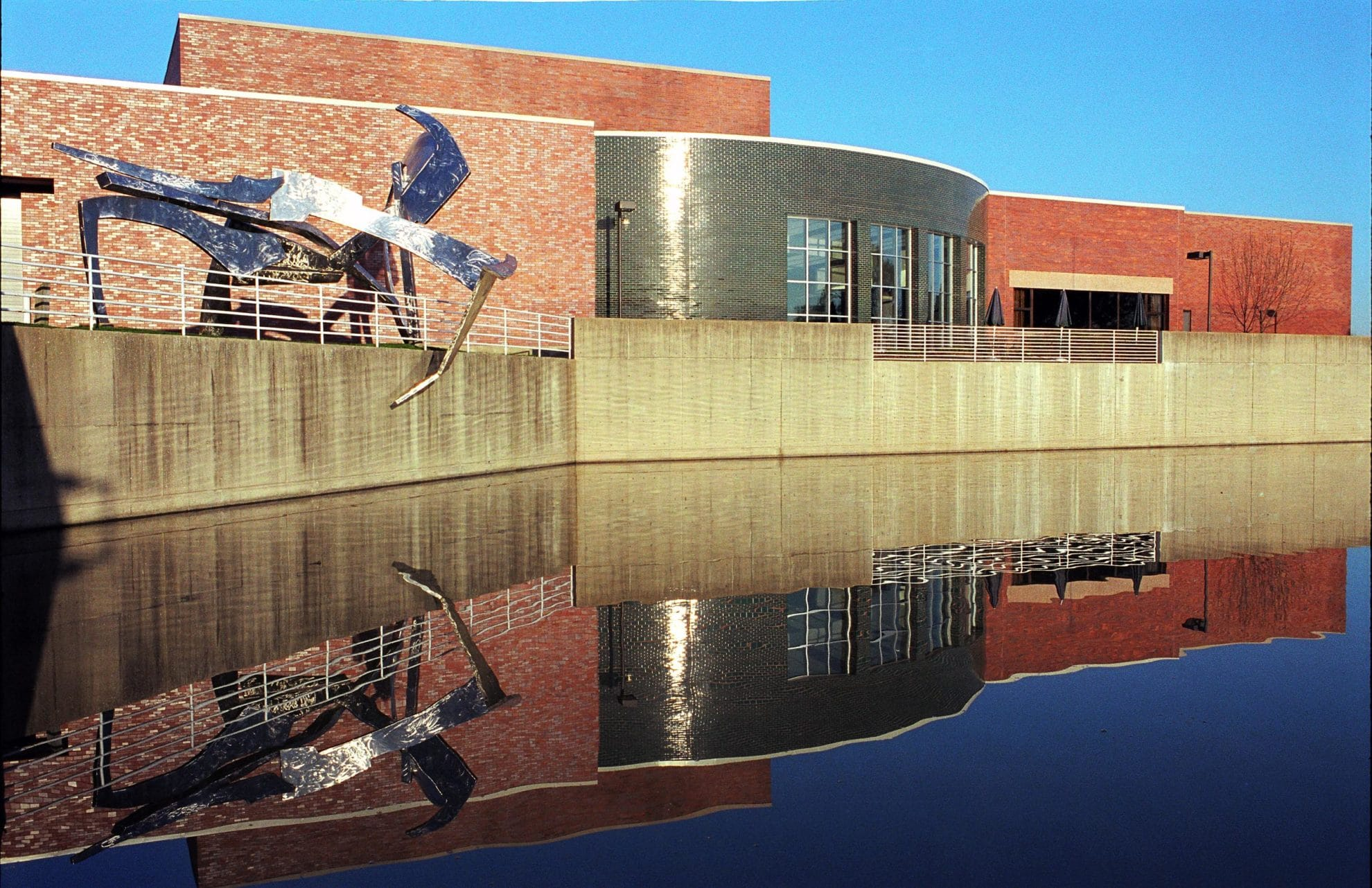 Reflection of college building - Marian Kraus - Chicago Commercial ...