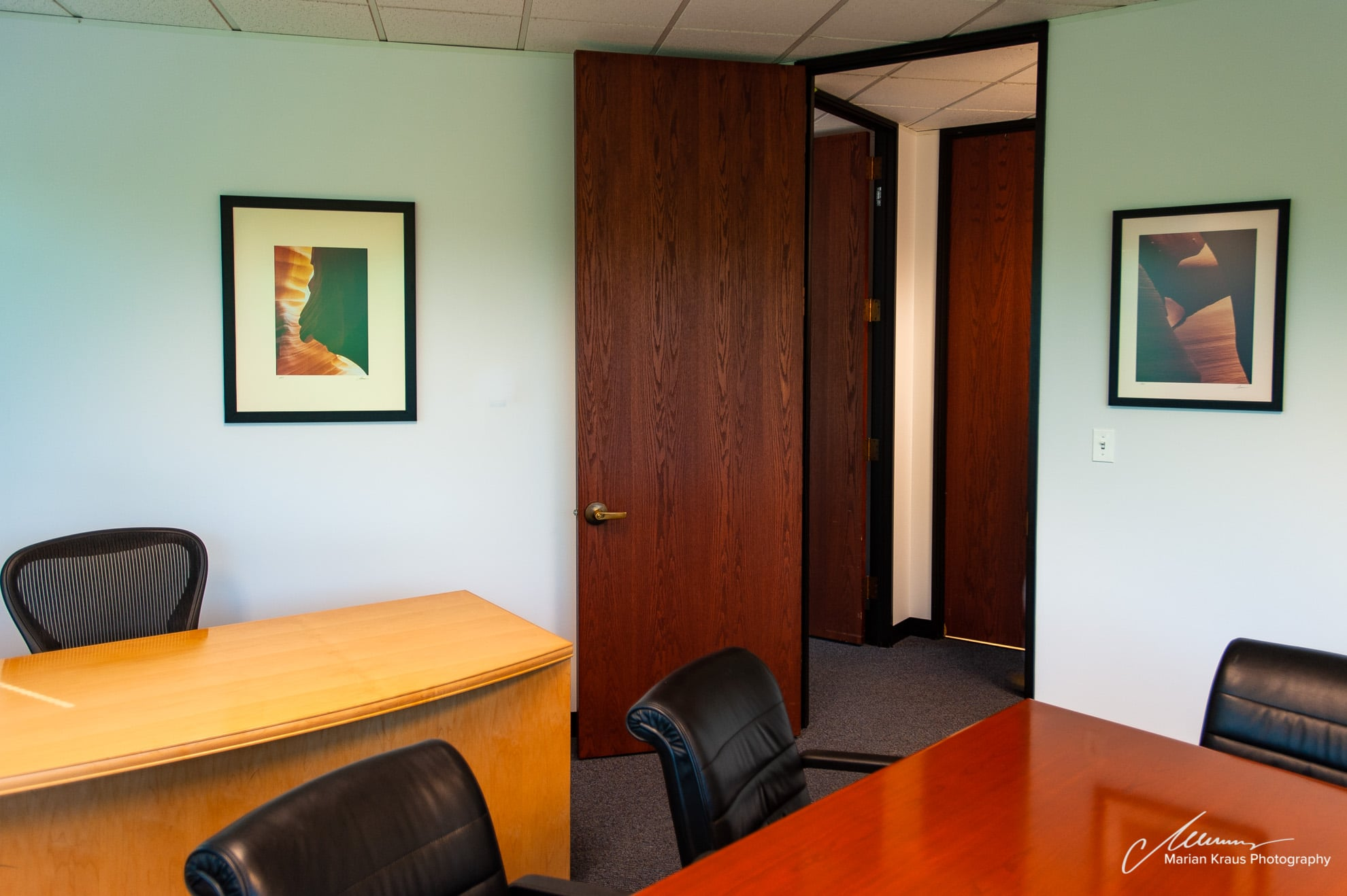 Fine Art Photography Wall Decor Office Installation In A Private Corporate  Office