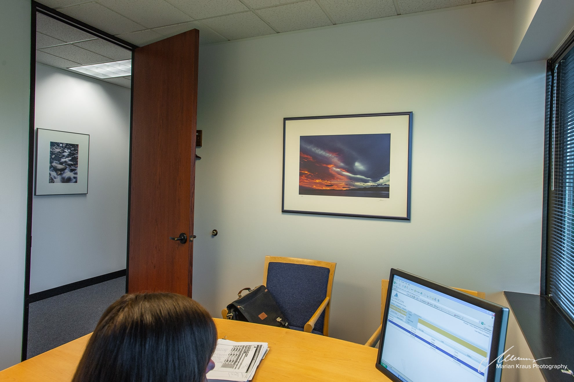 Fine Art Photography Wall Decor Office Installation In A Private Corporate